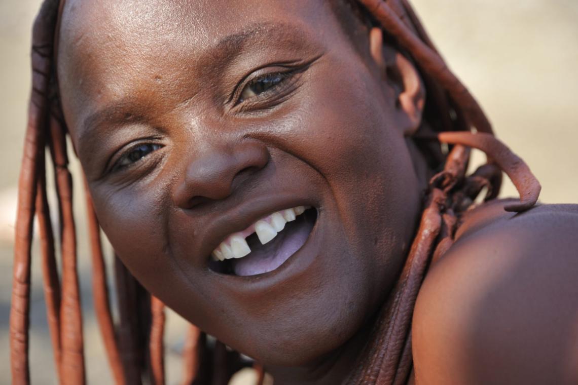 Himba lady at Grootberg